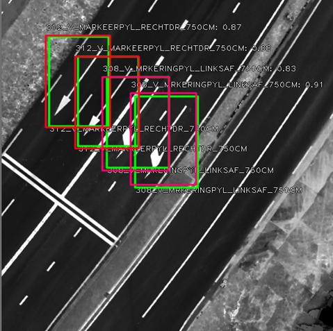 Artificial Intelligence (AI) in puntenwolk Geomaat